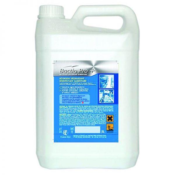 Carton de 2 bidons de Dégraissant désinfectant Bactiopro + 5l