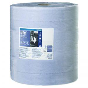 Bobine d'essuyage 3 plis 1000 formats bleu W1