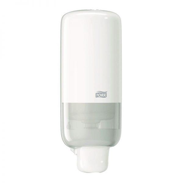 Distributeur savon S4 blanc