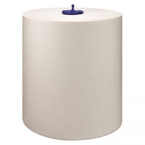 Carton de 6 Rouleaux d'essuie mains 2 plis blanc 21cmx150m H1