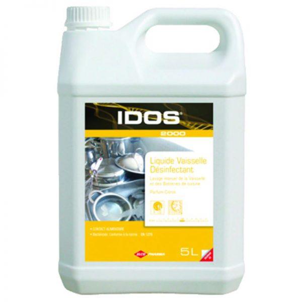 Carton de 2 bidons de Détergent liquide plonge manuelle désinfectante 5l