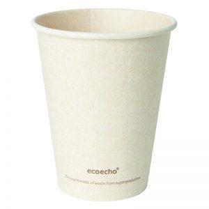 Carton de 800 Gobelets bagasse / PLA Sweet 24cl