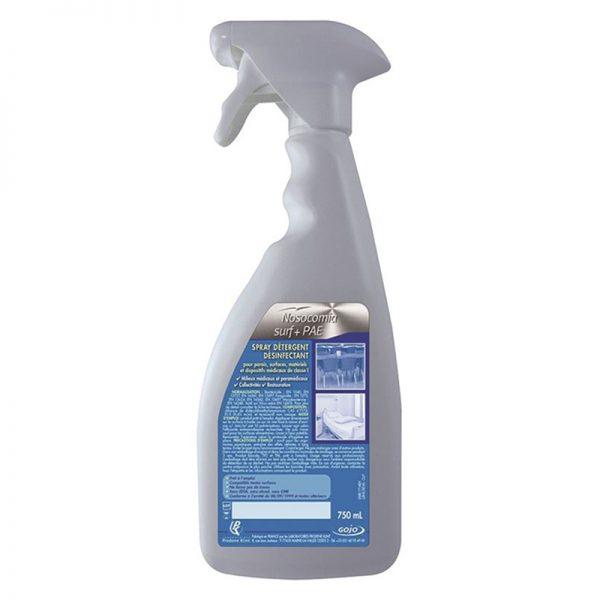Carton de 6 flacons de Désinfectant spray surfaces Nosocomia Surf + PAE 750ml