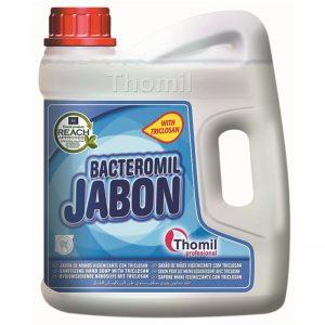 Carton de 4 bidons de Savon mains liquide bactéricide Bacteromil 4l