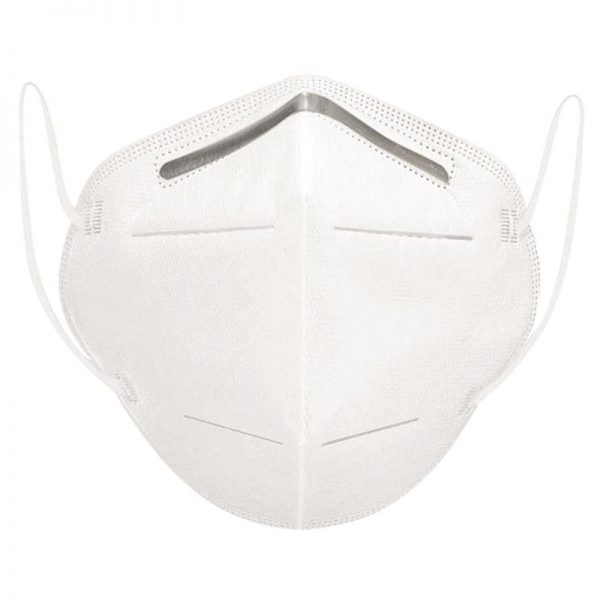 Carton de 1200 de Masques protection respiratoire avec barrette nasale FFP2 KN95