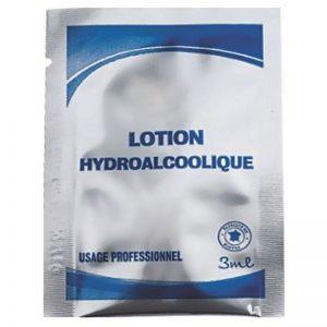 Carton de 500 Lotions hydroalcoolique dosette 3ml
