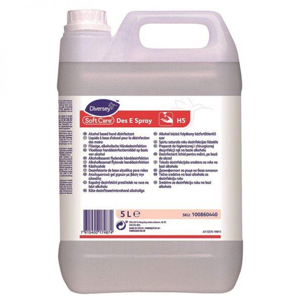 Carton de 3 bidons de Solution hydroalcoolique 5l