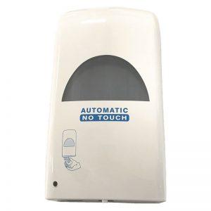 Distributeur ABS blanc automatique pour gel hydroalcoolique 1l