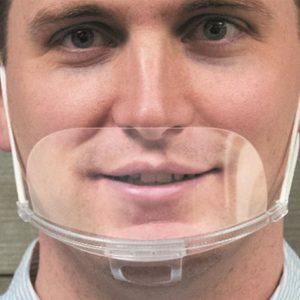 Carton de 1000 Pare haleine PET transparent réutilisable Hygiclear