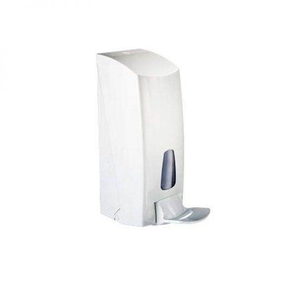 Distributeur à gel hydroalcoolique et savon à coude 1l