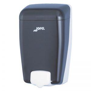 Distributeur à savon et gel ABS fumé à remplissage 1l