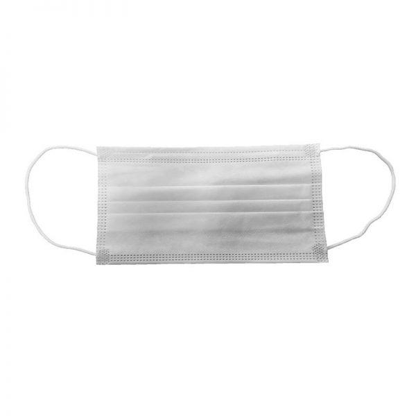 Carton de 2400 masques chirurgicaux 3 plis type IIR EN 14683 blanc