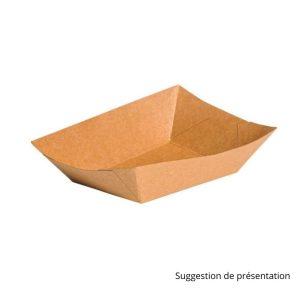 Barquette carton